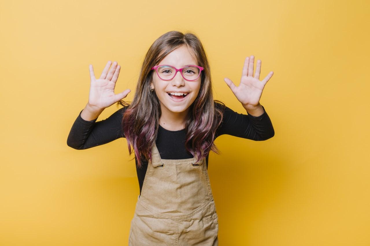 first grade addition worksheet excited child